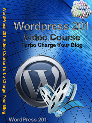 Product picture Wordpress 201 Video Course Turbo Charge Your Blog PLR!