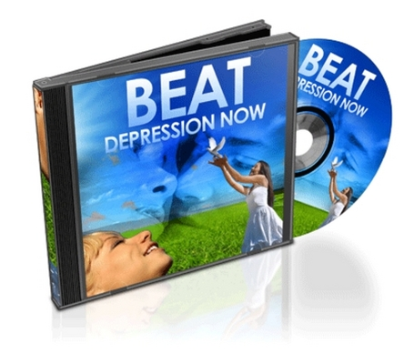 Product picture Beat Depression Now With Private Label Rights License