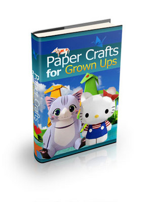 Product picture Paper Crafts for Grown Ups-Complete PLR Version